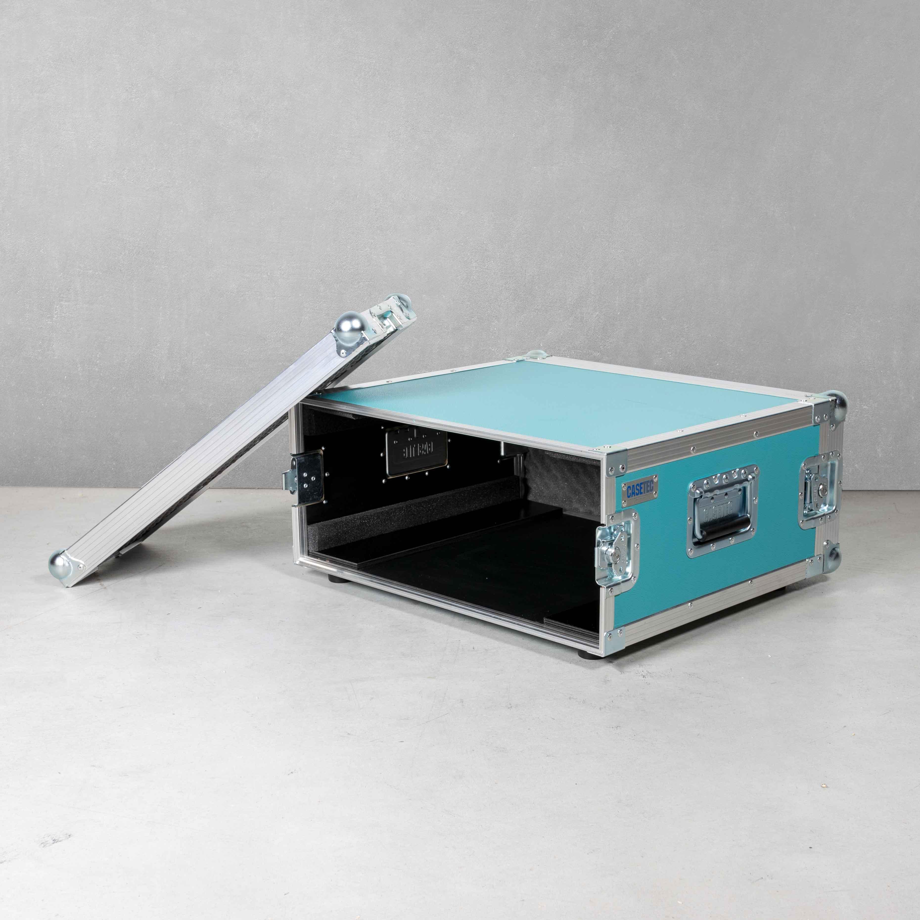 Double-Door Flightcase für Rackmodul 4HE