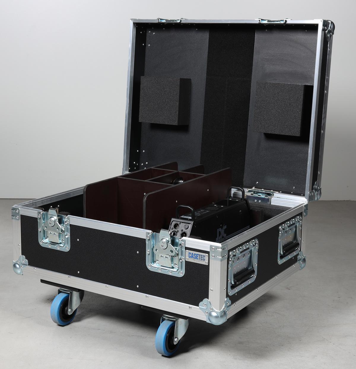 Flightcase für 4 Stück GLP JDC Line 500