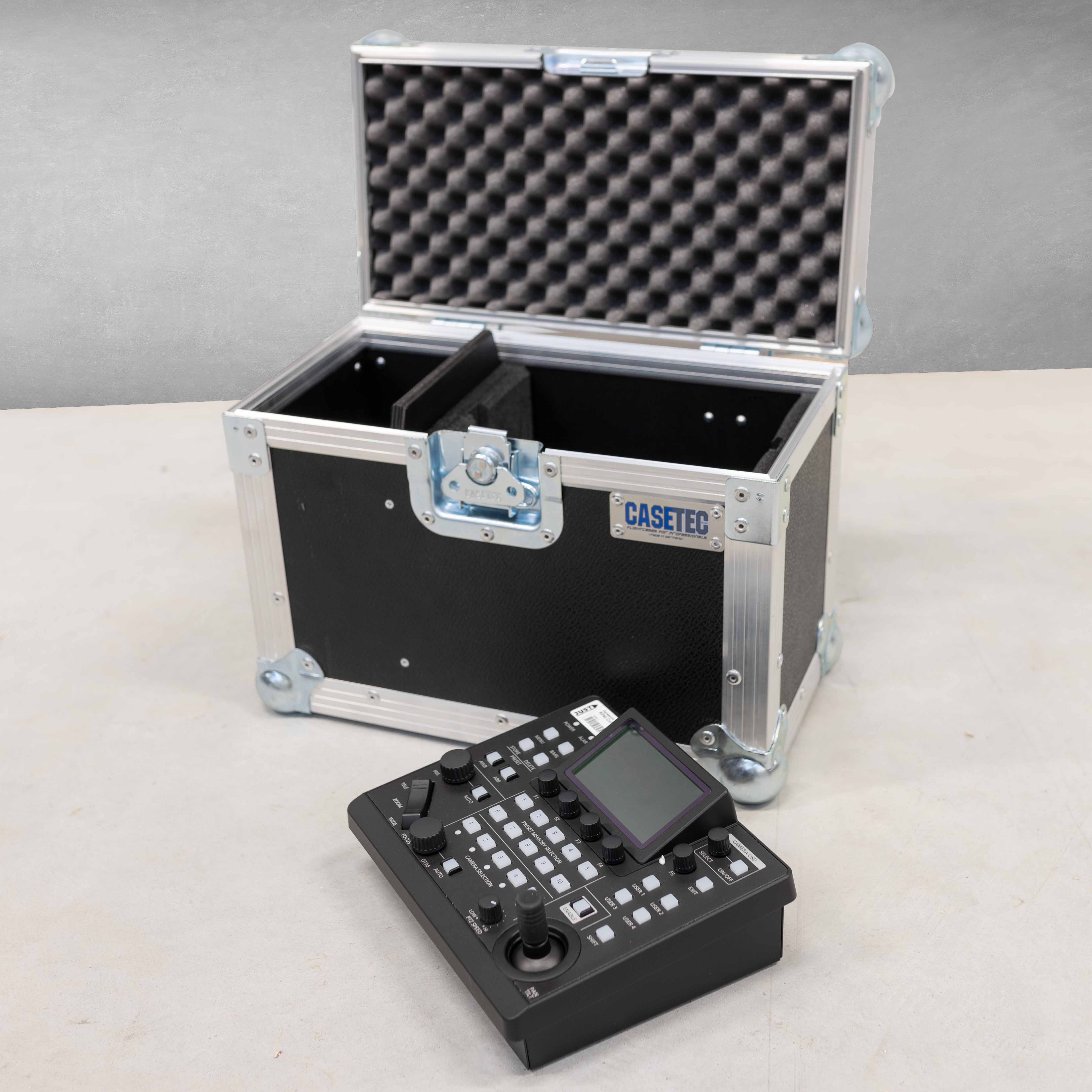 Flightcase für eine Panasonic AW-RP60