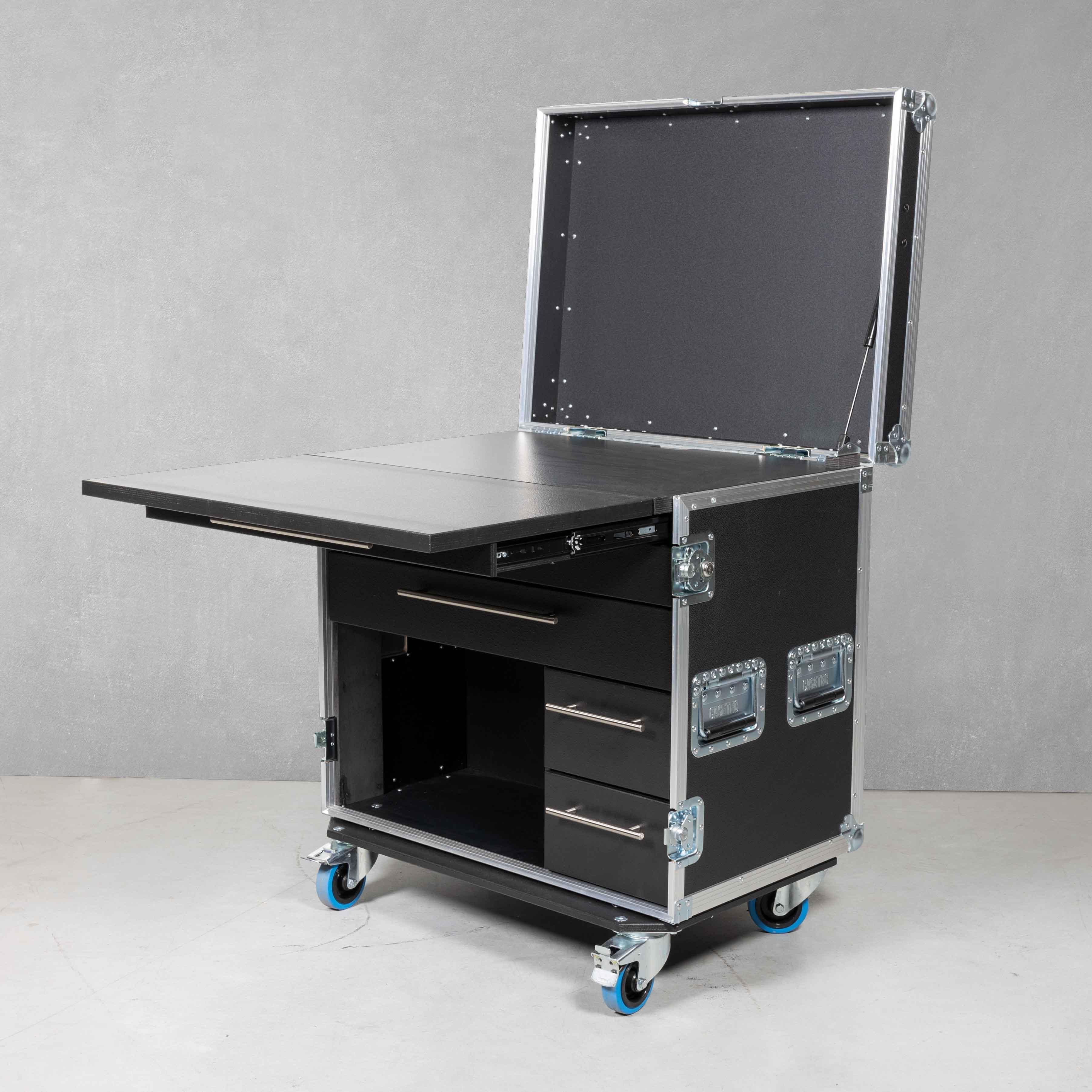 Mobile Workstation OfficeCase für Laptop und Bürobedarf