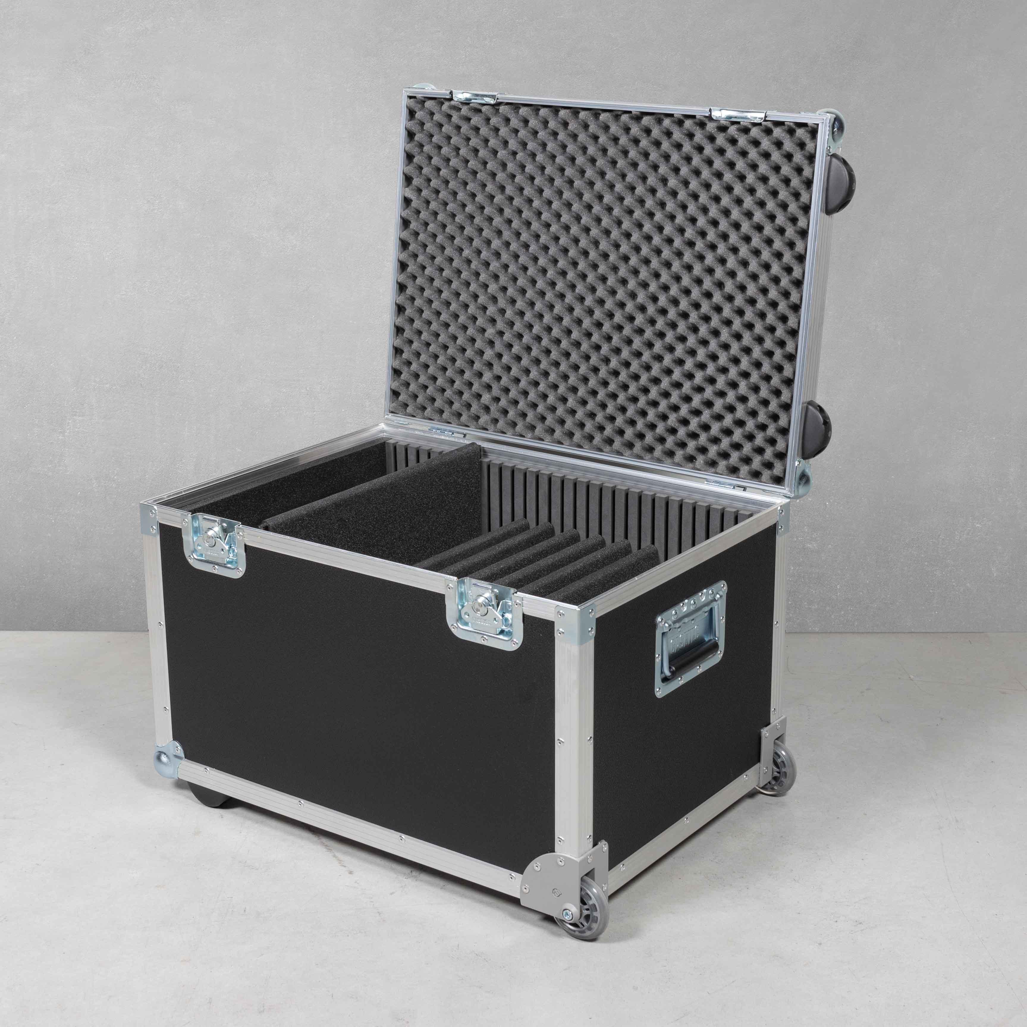 Universal Trolleycase für 7 Laptops/Notebooks mit Zubehörfach