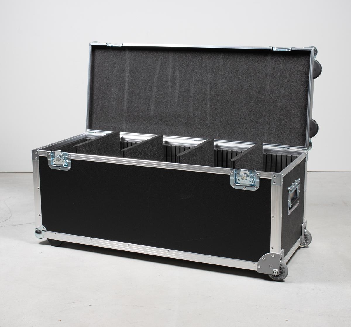 Universalkoffer TYP A2 mit Eckeinbaurollen, Packcase Trolley