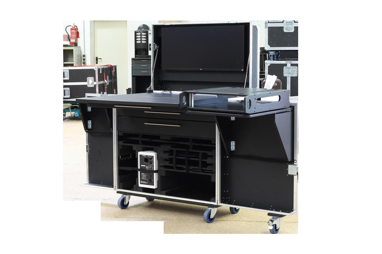 OfficeCase für Studioequipment
