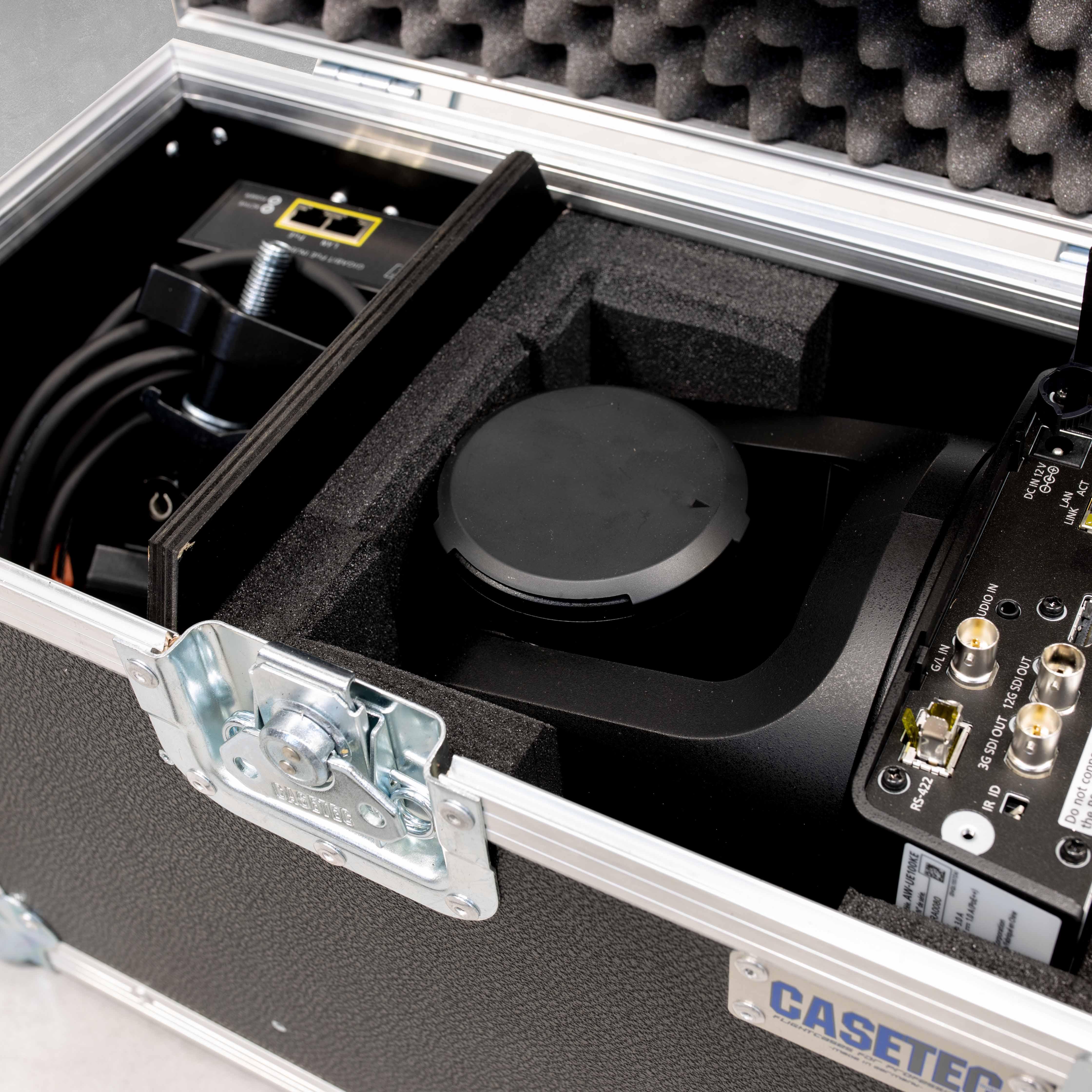 Flightcase für eine Panasonic AW-UE100W/AW-UE100K