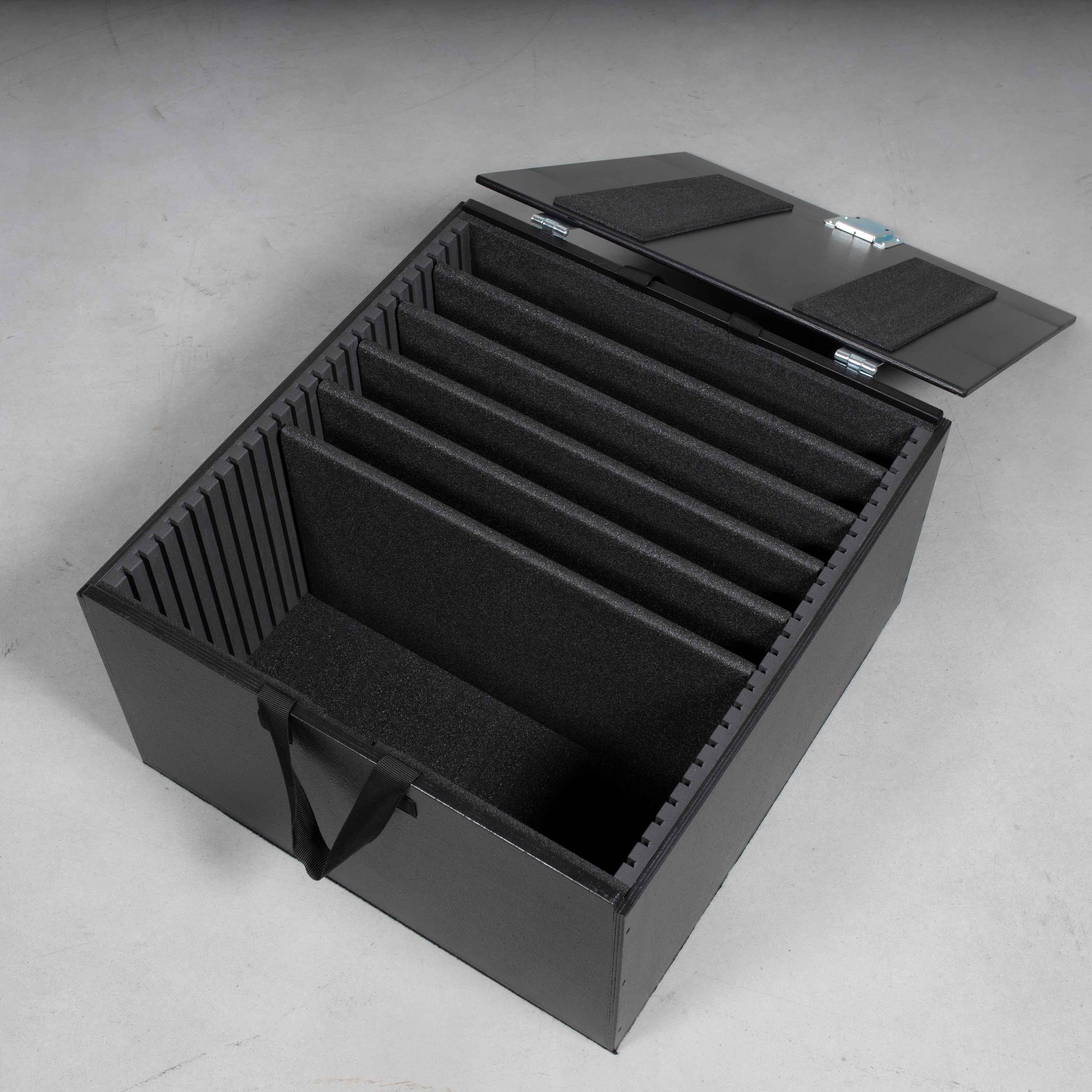 Packcaseeinsatz Universal für 5x Laptops und Zubehör (Für Packcase ohne Stapelschalen)