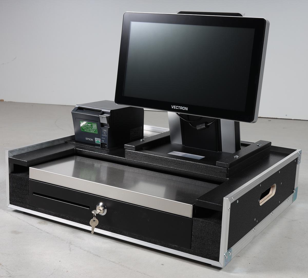 Flightcase für Kassensystem