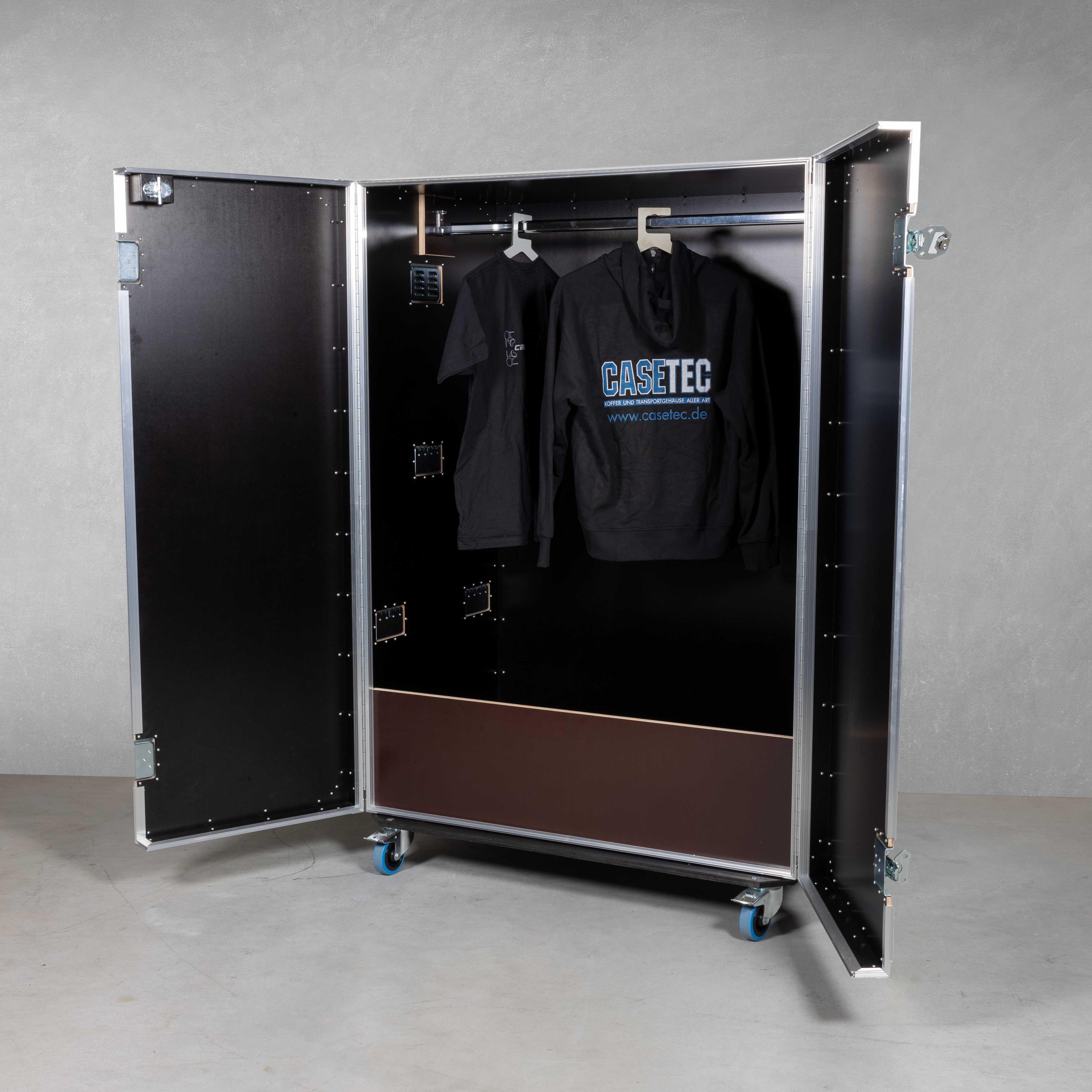 Flightcase Garderobe