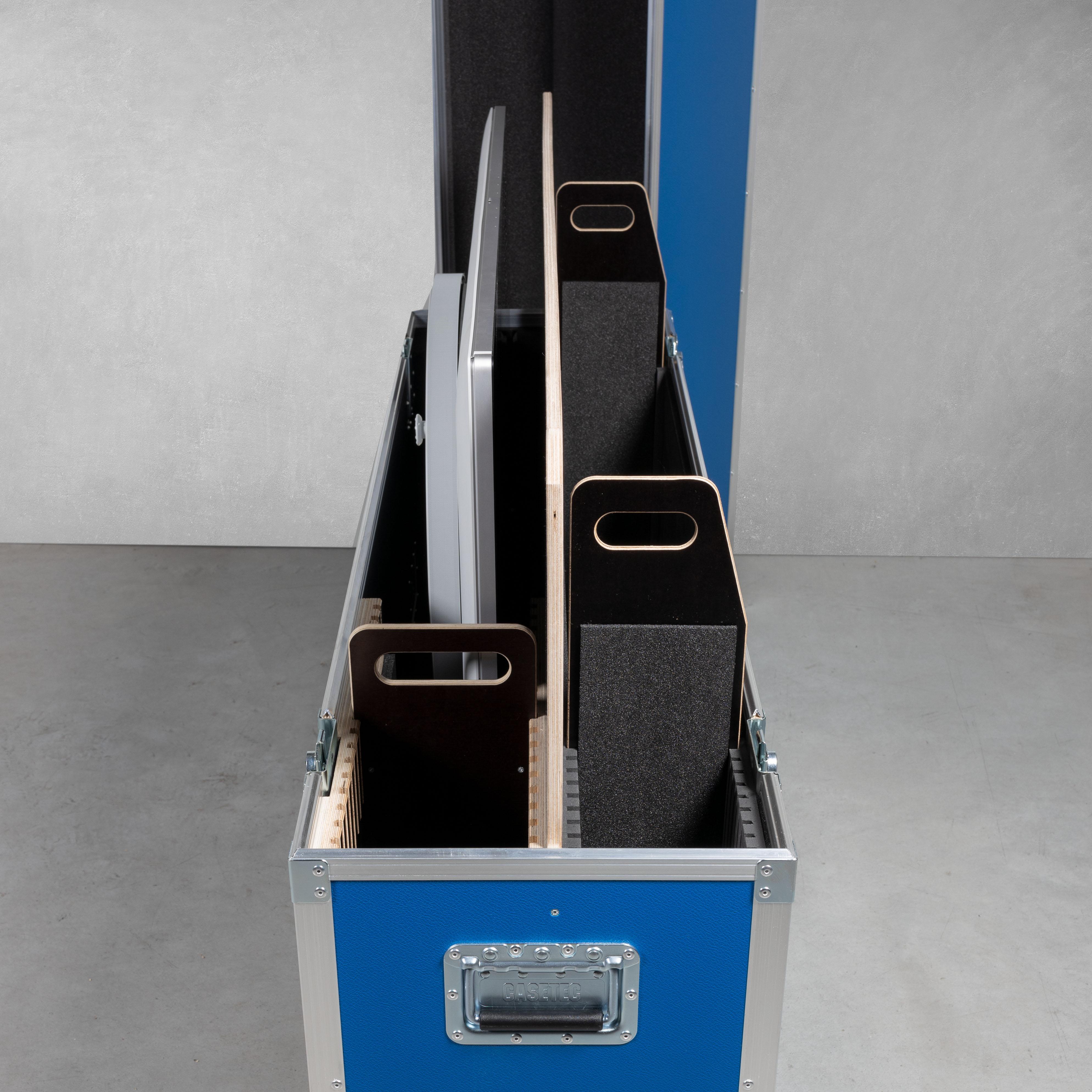 """Universal - Flightcase für ein 42"""" - 55"""" Slim-Bildschirm"""