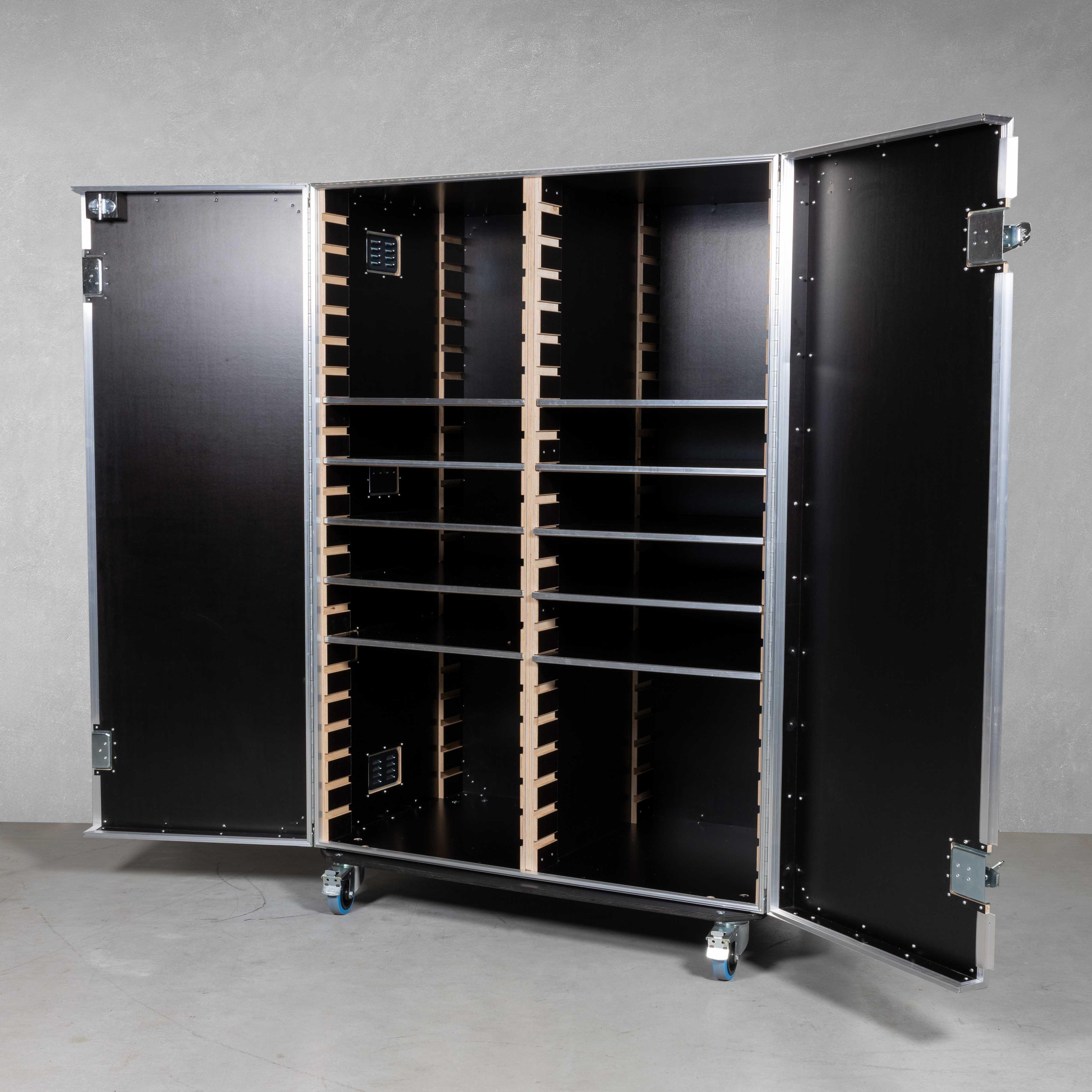 Flex-Schrankcase groß(mit Mittelwand)