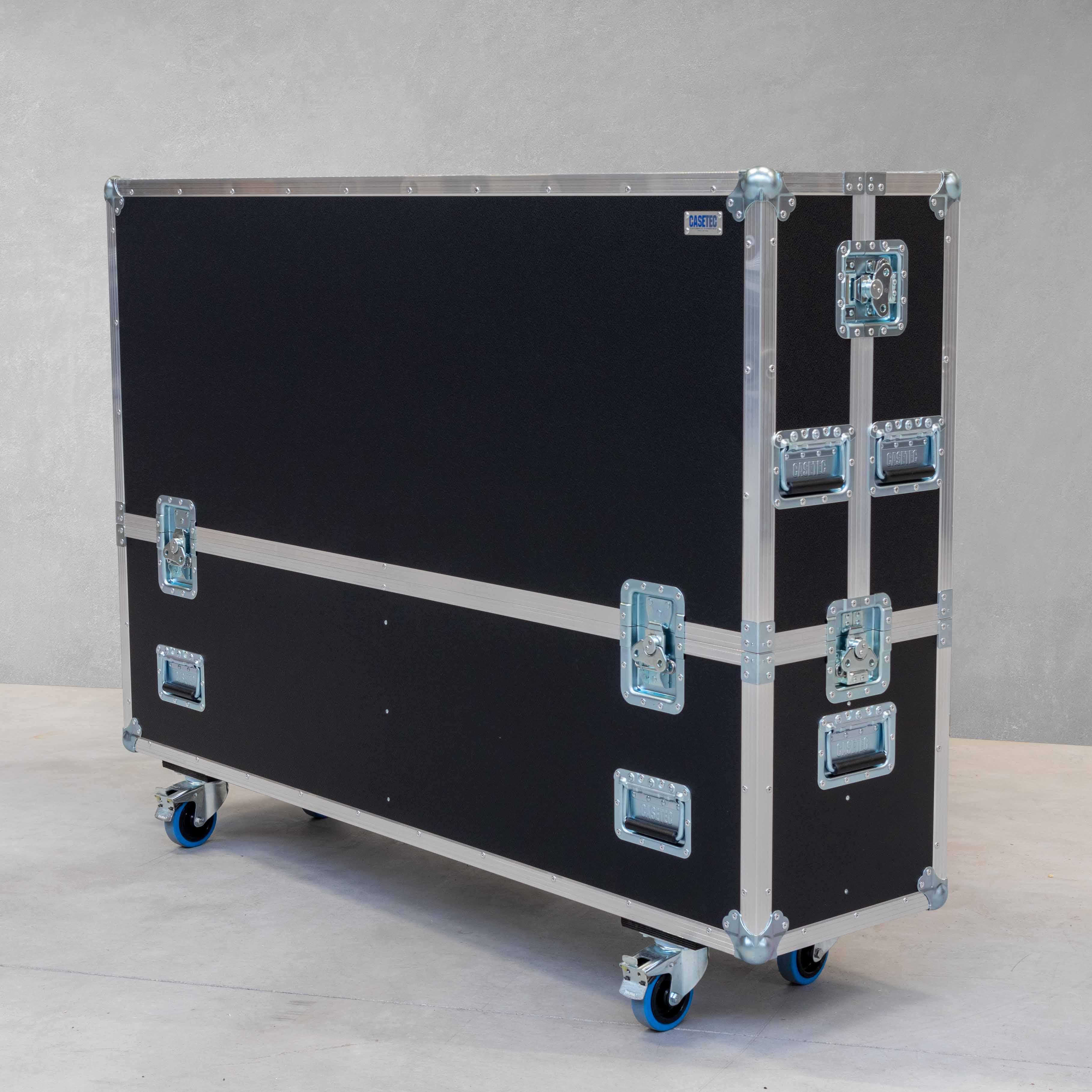 """Flightcase für einen Flachbildschirm 65"""" Samsung WM65R"""