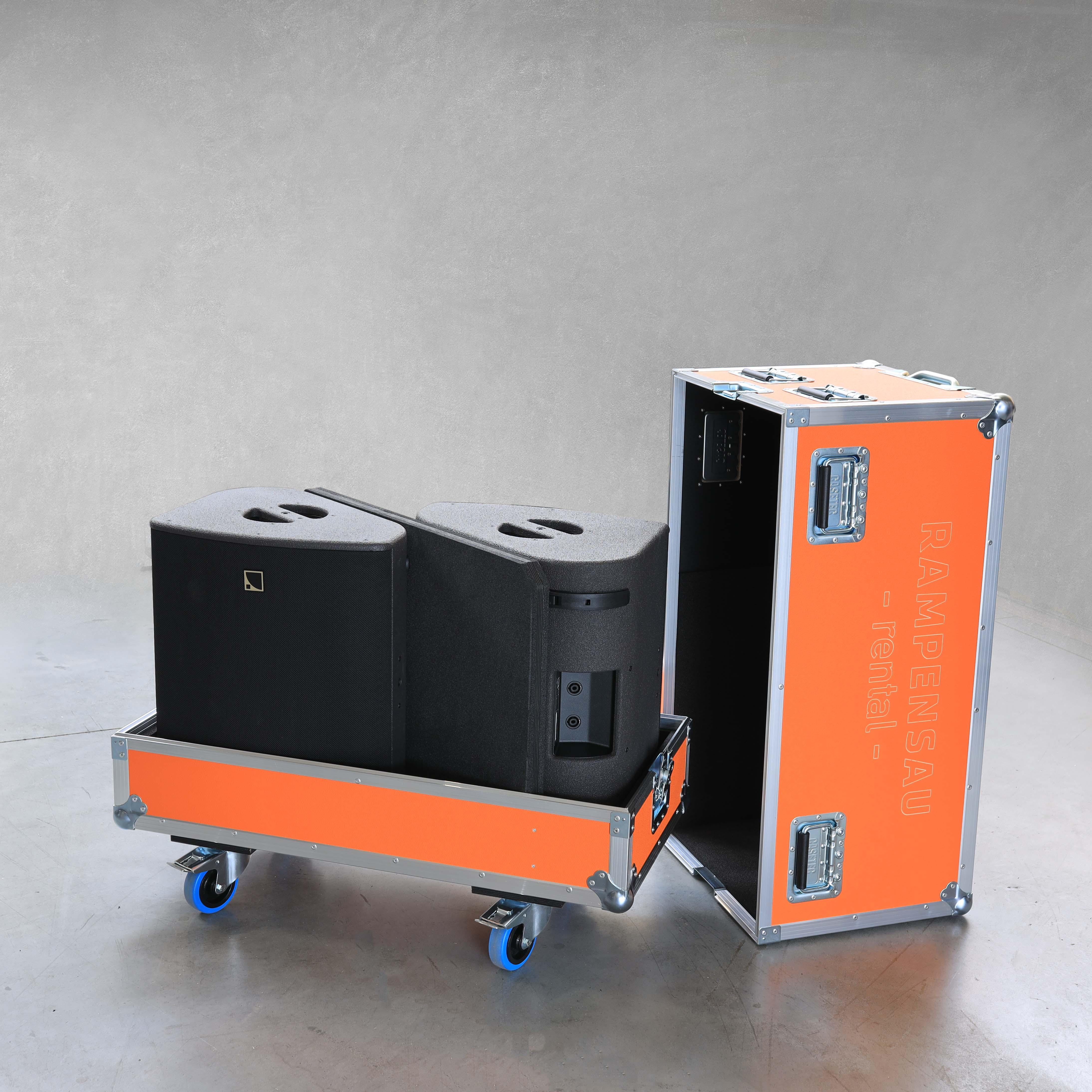Haubencase für zwei L-Acoustics X12