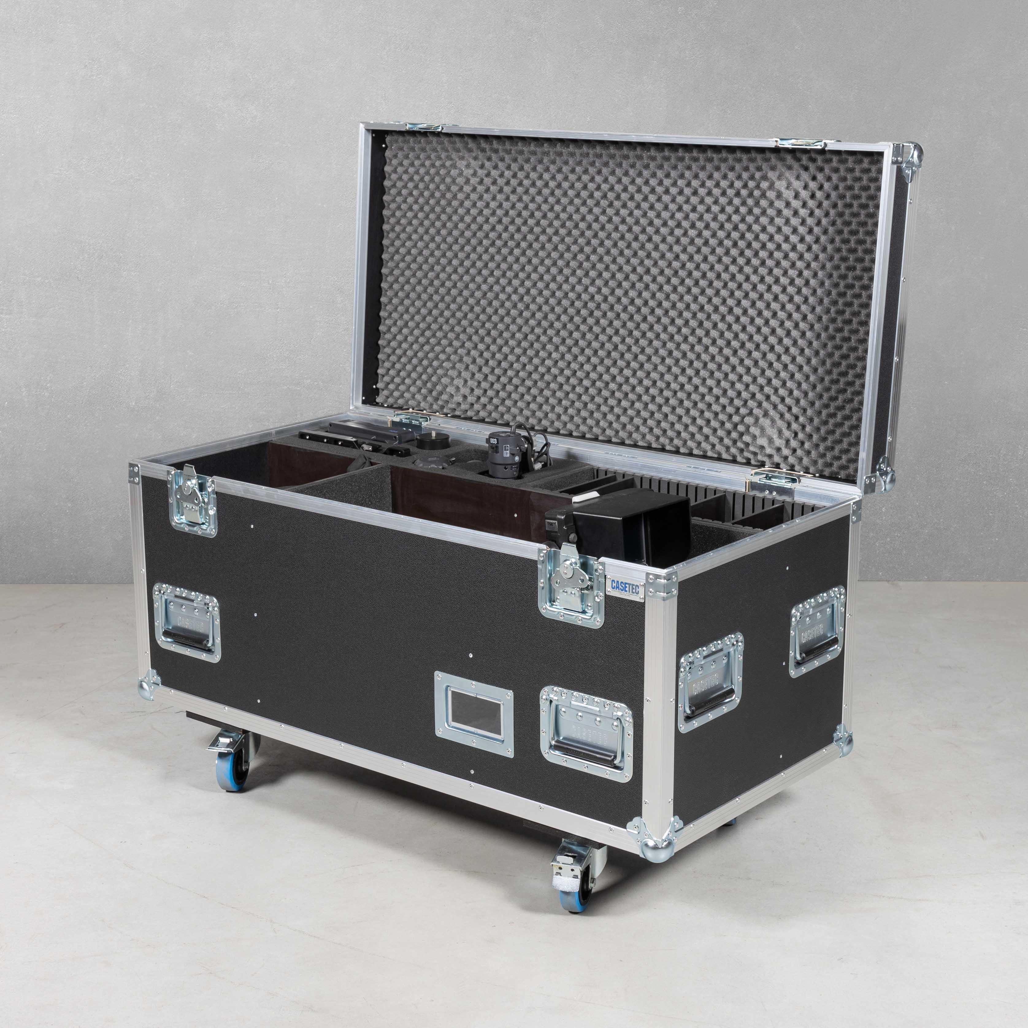 Flightcase für Kamerazug Sony HXC-FB80 mit Zubehör