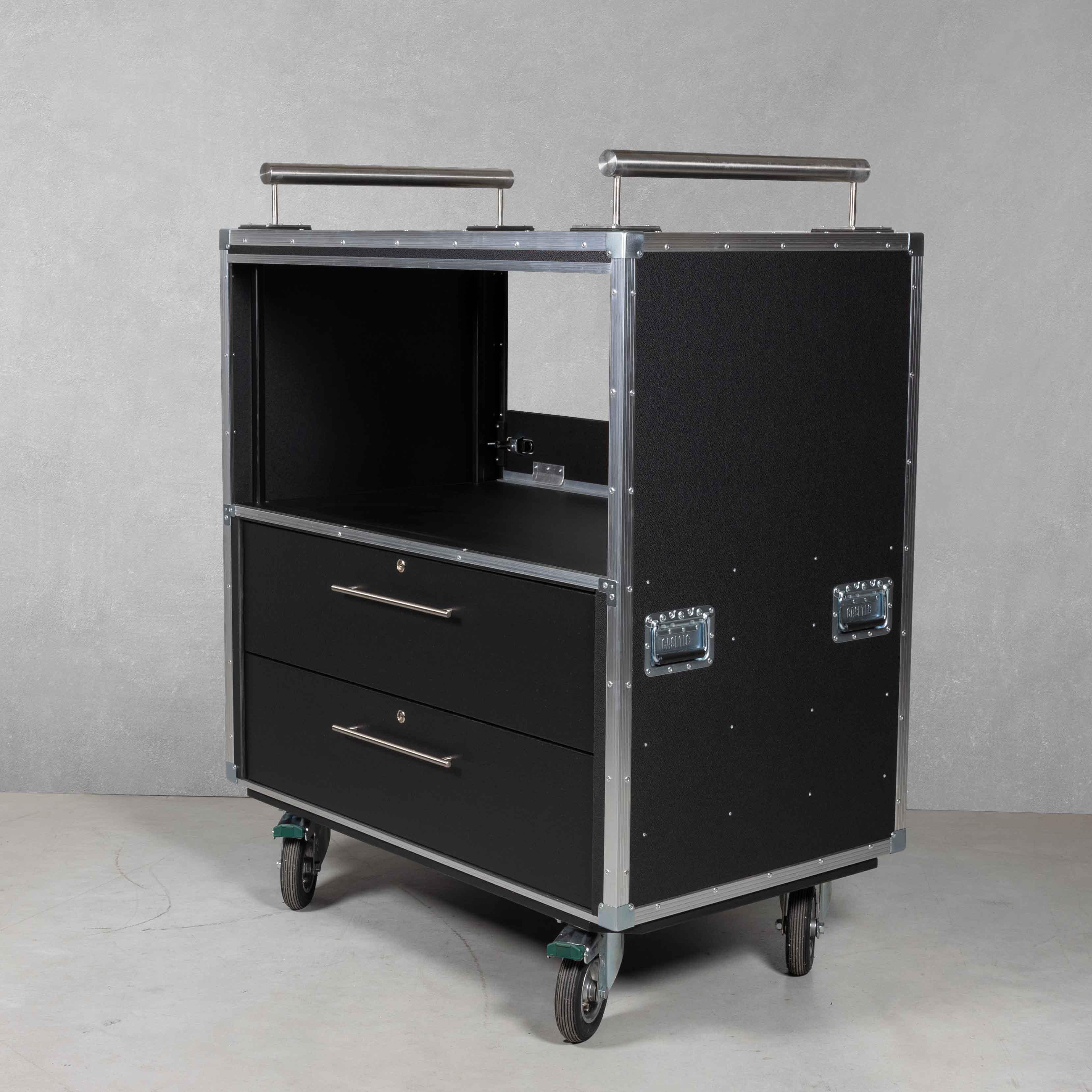 Flightcase Rollschrank Typ B