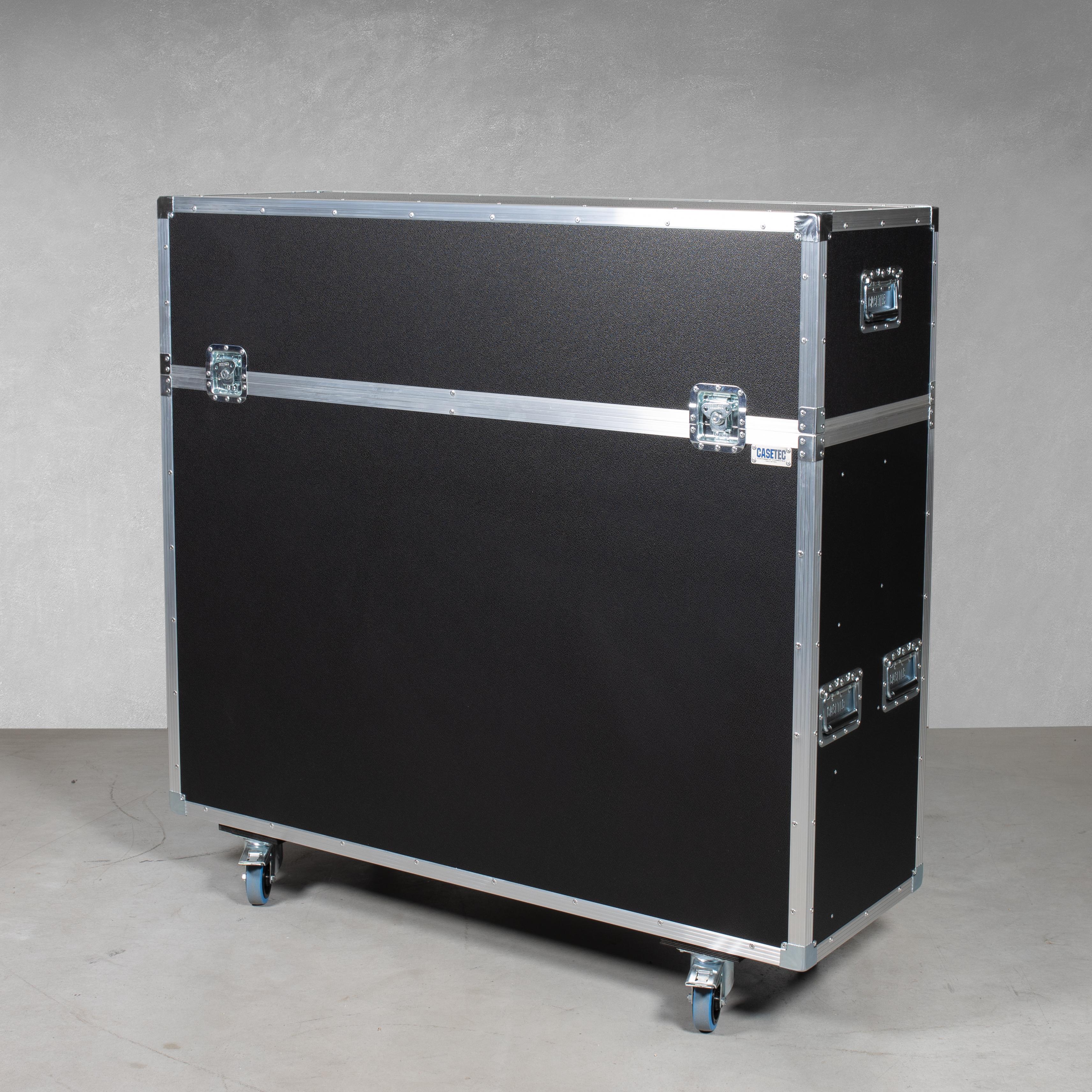 """Flightcase mit elektrischem Hublift (inkl. Displayhalterung) für einen Flachbildschirm 55"""""""