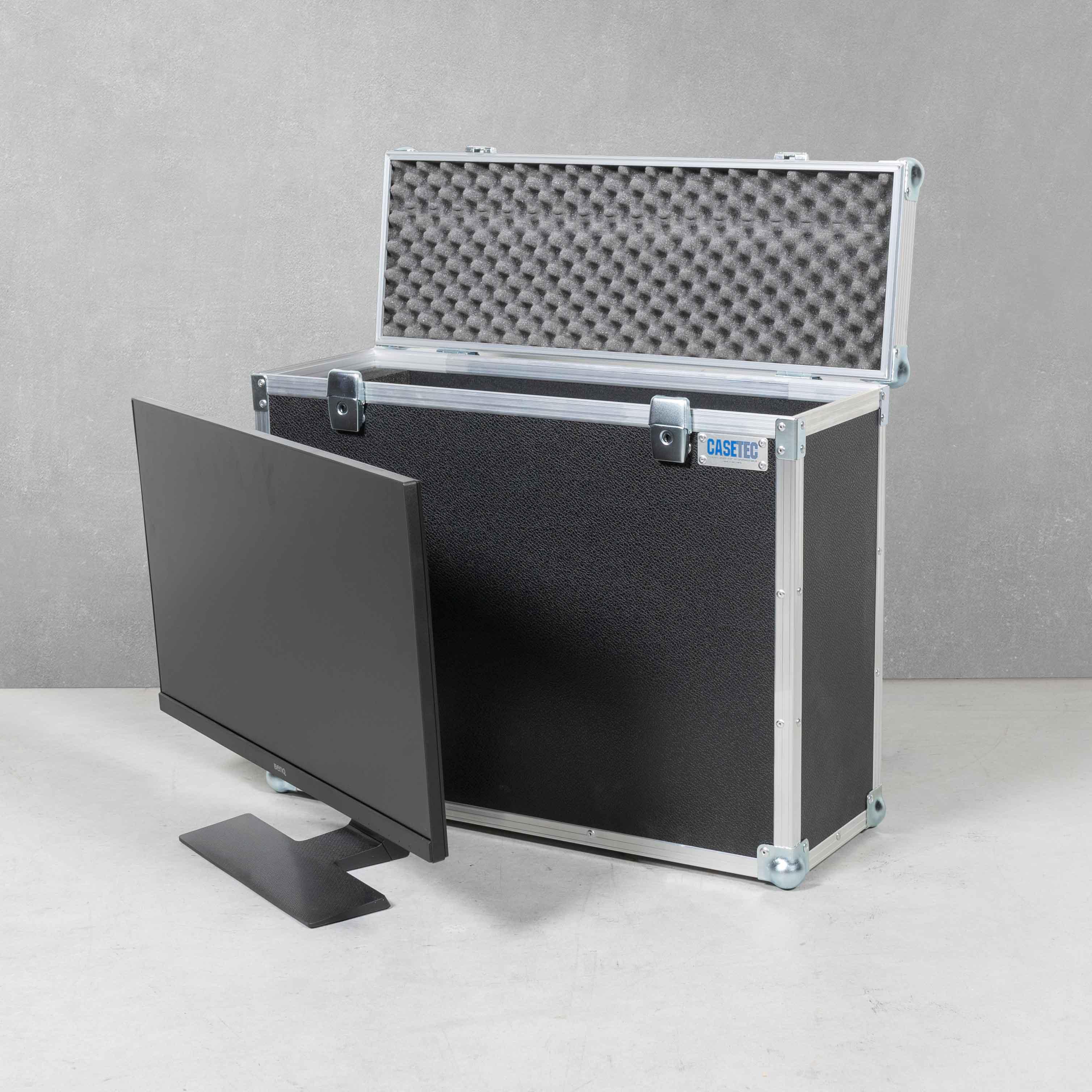 """Flightcase für einen TFT 24"""" Monitor BenQ GL2580HM"""