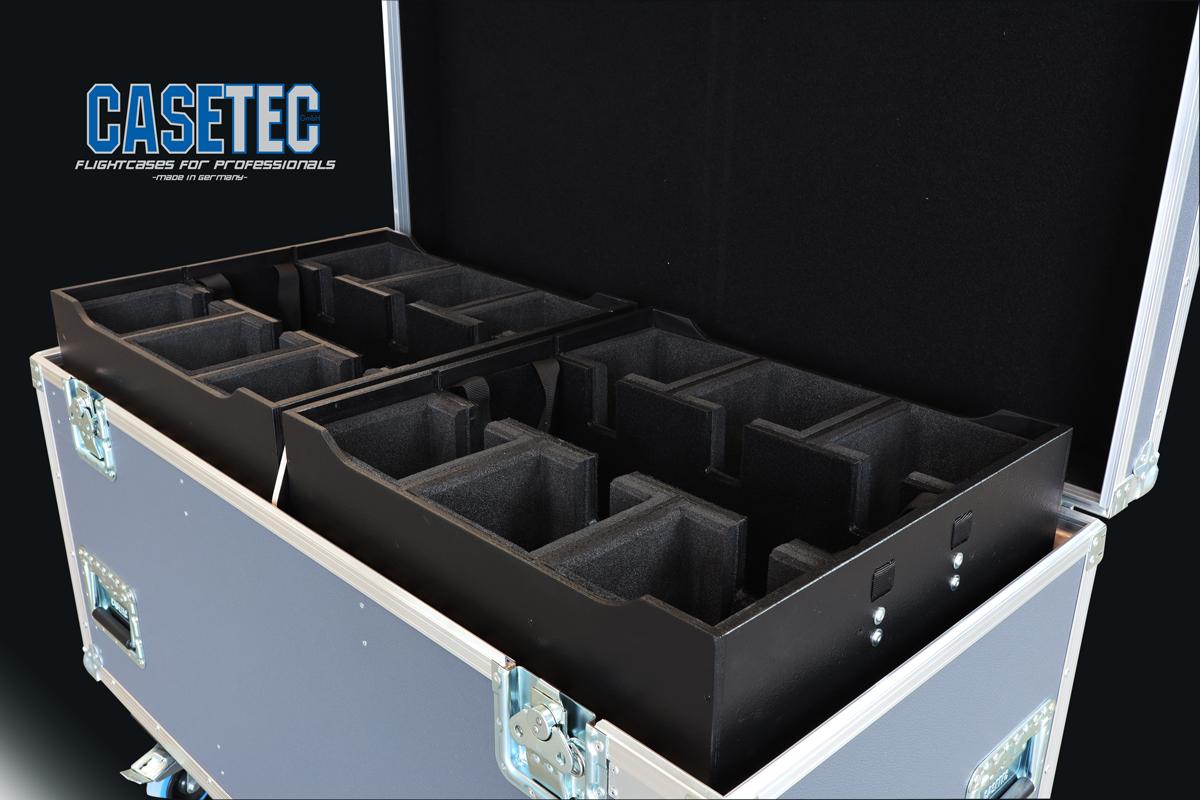 Packcaseeinsatz für 6x PROLIGHTS Smartbat