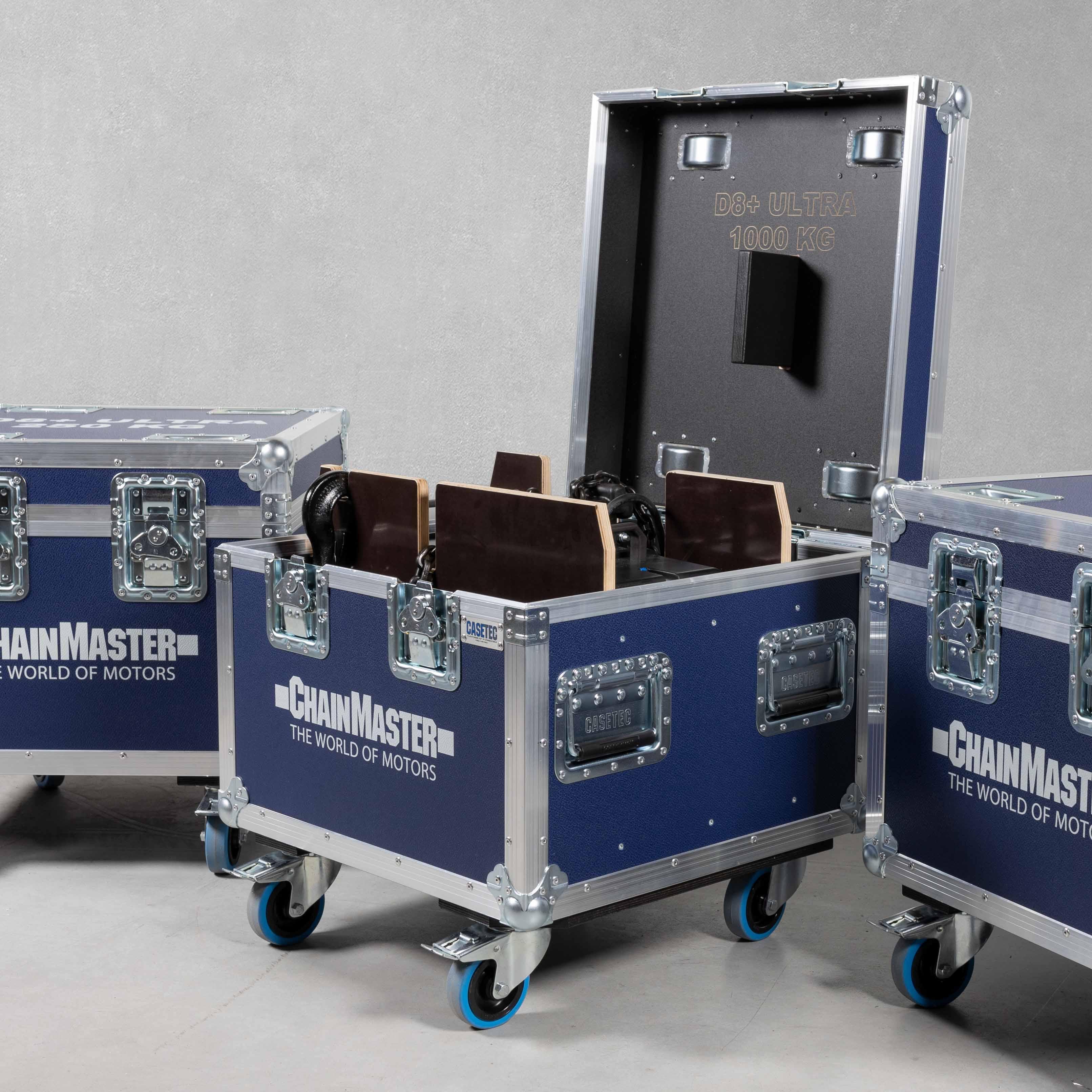 Motorencase für ein Chain Master Rigging Lift D8 Plus 1000Kg Ultra