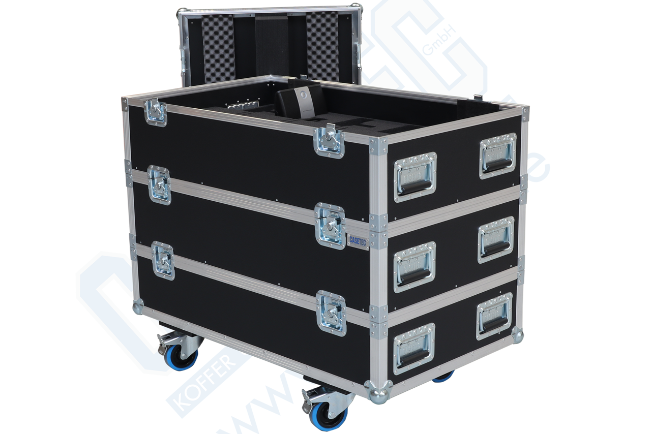 Flightcase für 25 Stück Sennheiser ADN-WC1 Spechstellen