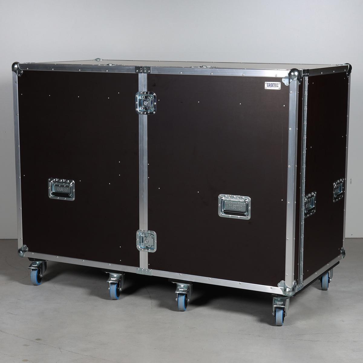 Schrankcase für 8 Stück Euroboxen (Kunststoffboxen) + Systemkoffer