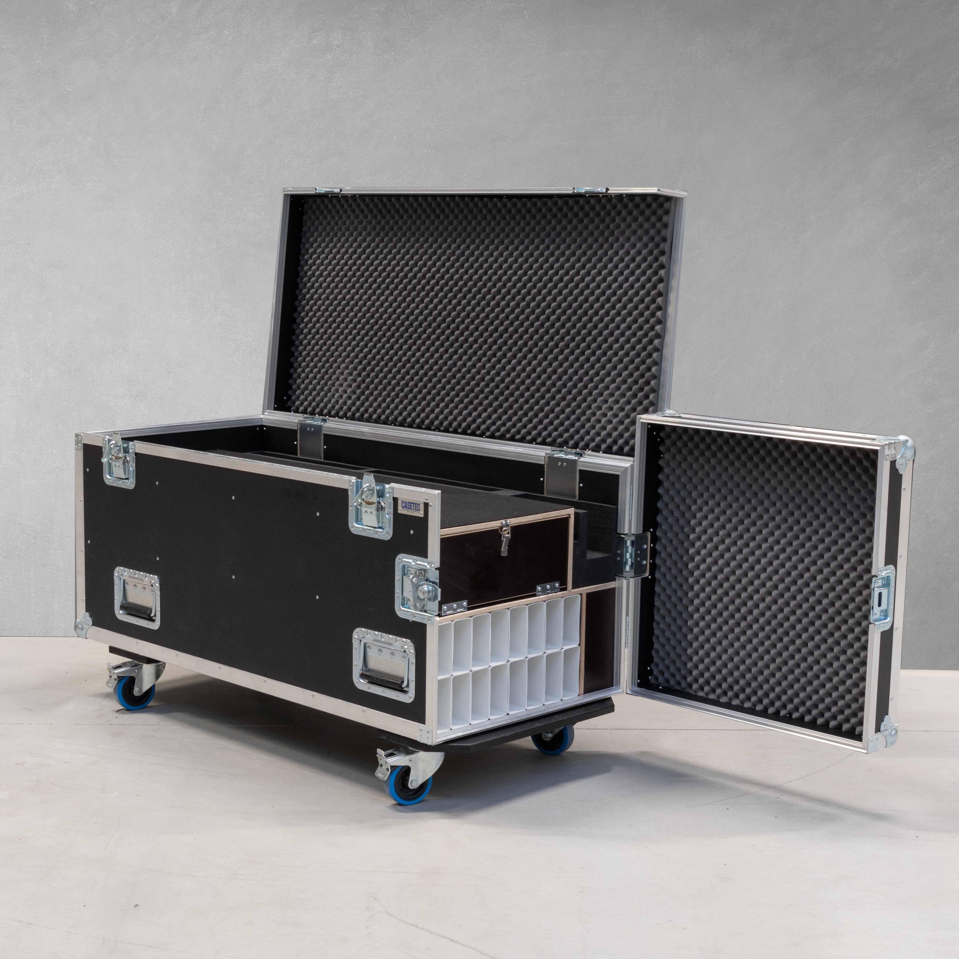 Universal-Flightcase für Stumpfl FullWhite Compact Leinwand bis 6 Meter Breite