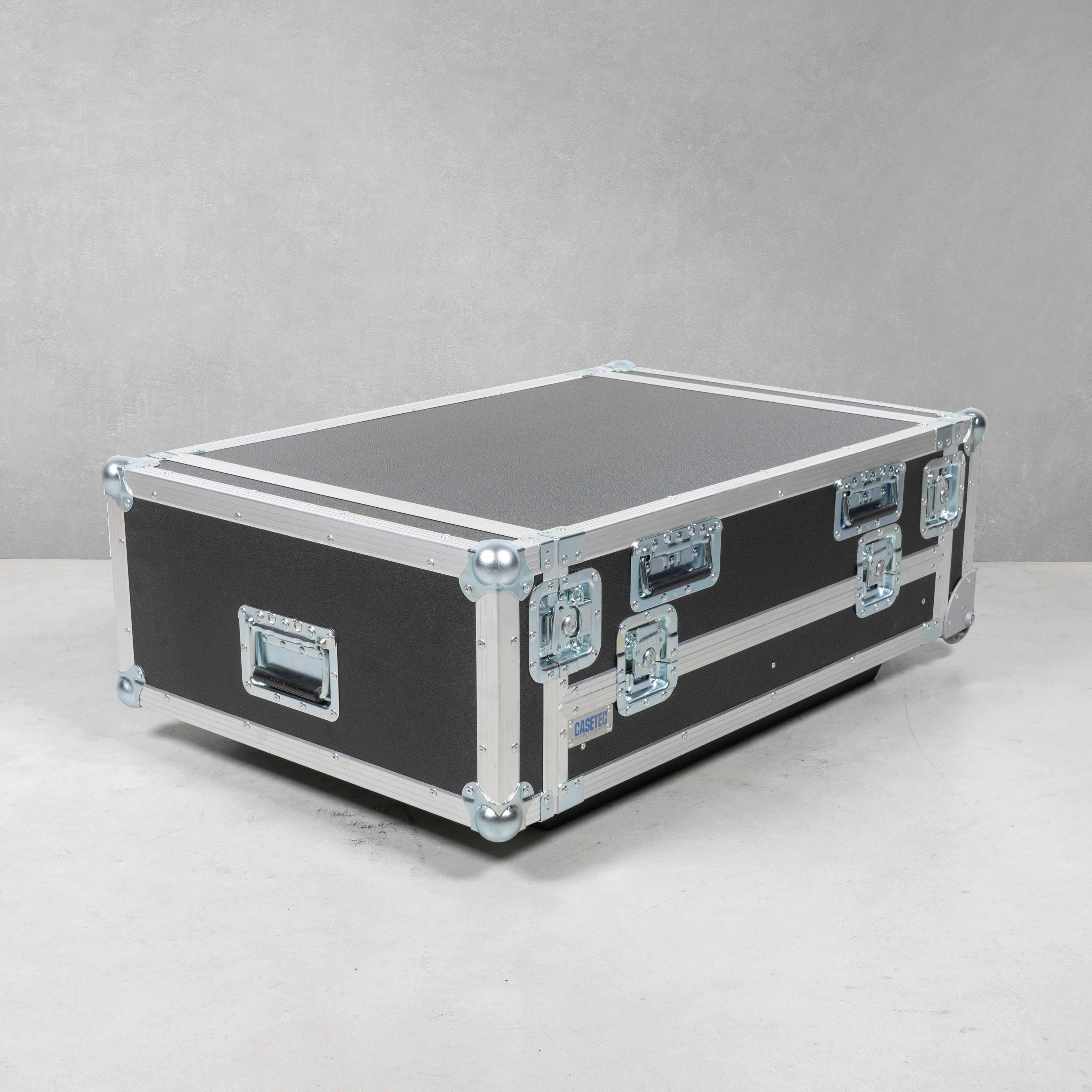 Flightcase für Waves LV1 System (Mischpult) mit PC Workstation