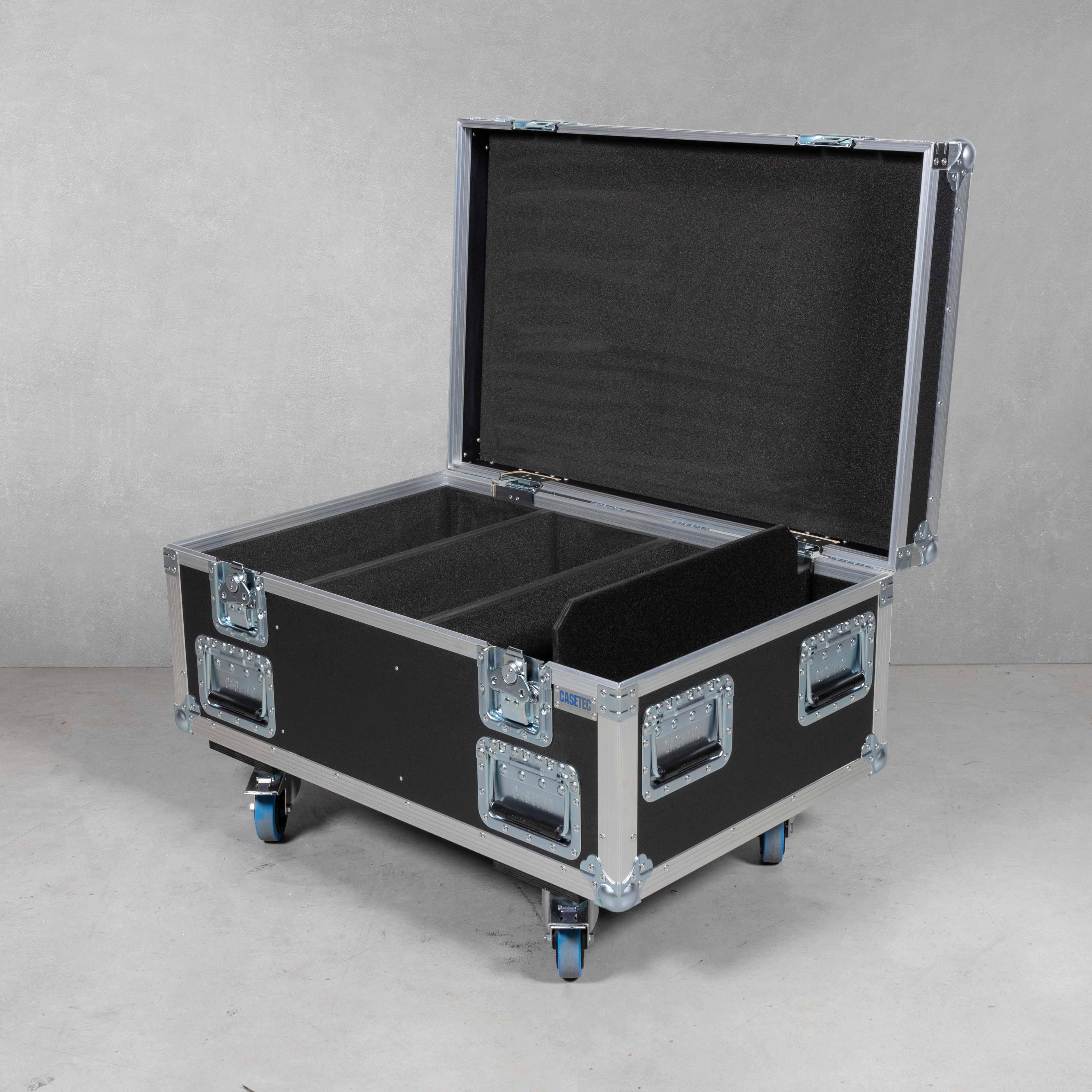 Flightcase für 6 x Arri 650 Plus Junior (mit TV-Zapfen)