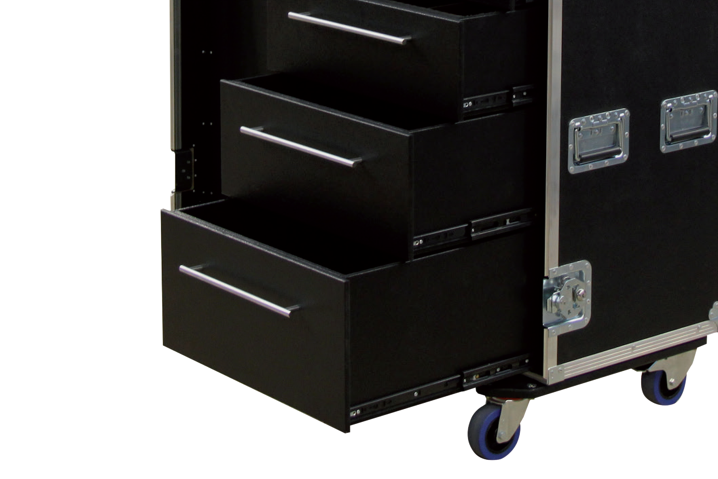 Schubladencase 120er Profi mit 6 Schubladen ohne Arbeitsfläche