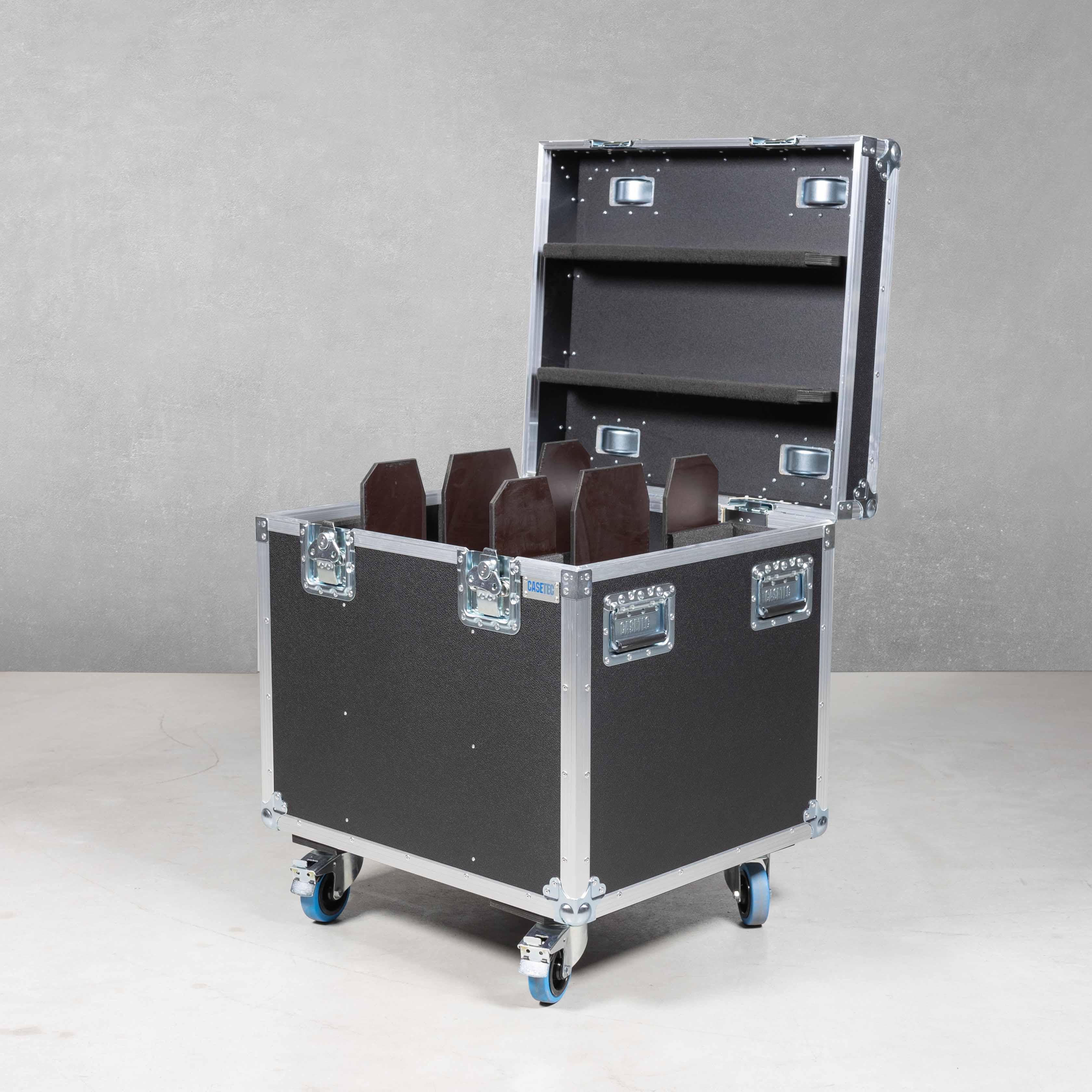 Flightcase für 2x Prolights EclPANEL TWC JR (M.O / P.O)