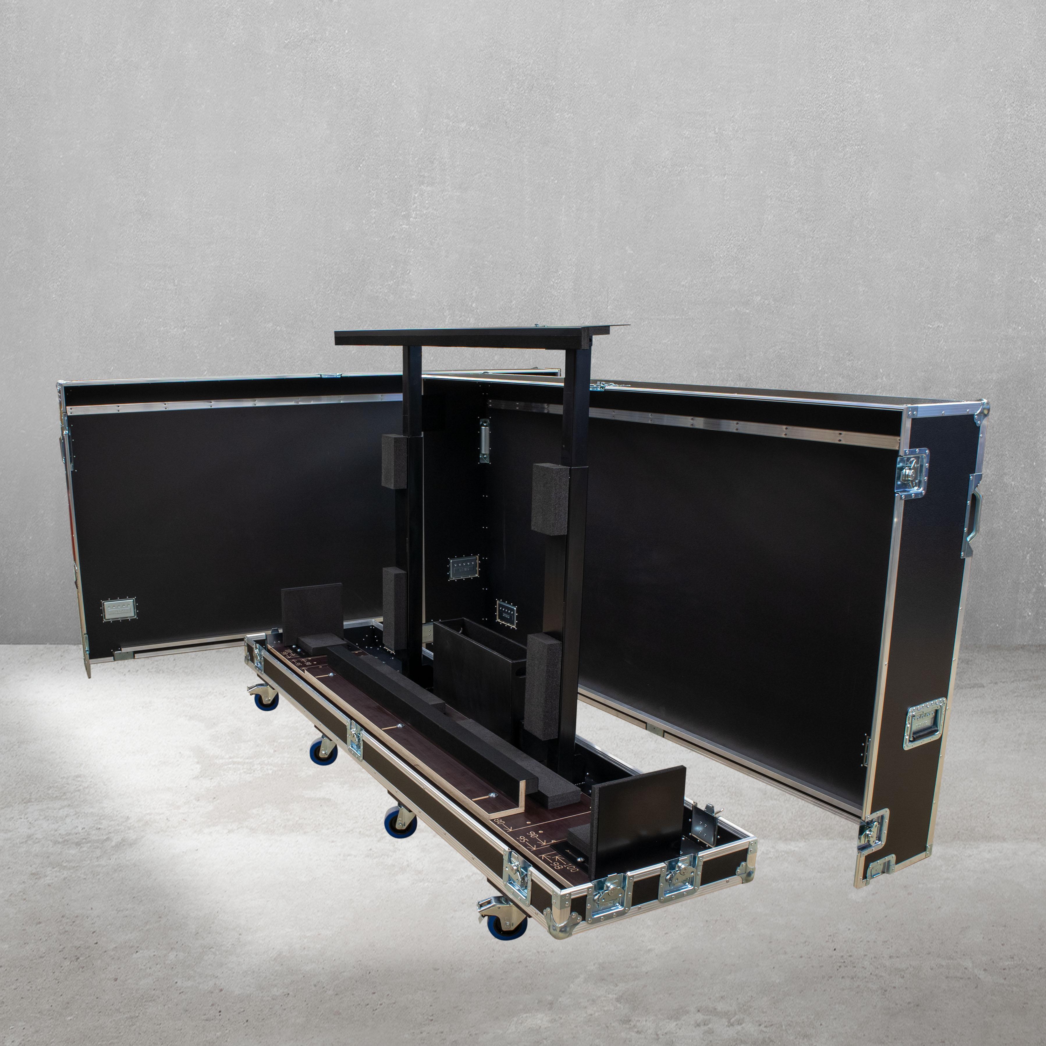 """Universal Haubencase für einen Flachbildschirm 80"""" -  100"""""""