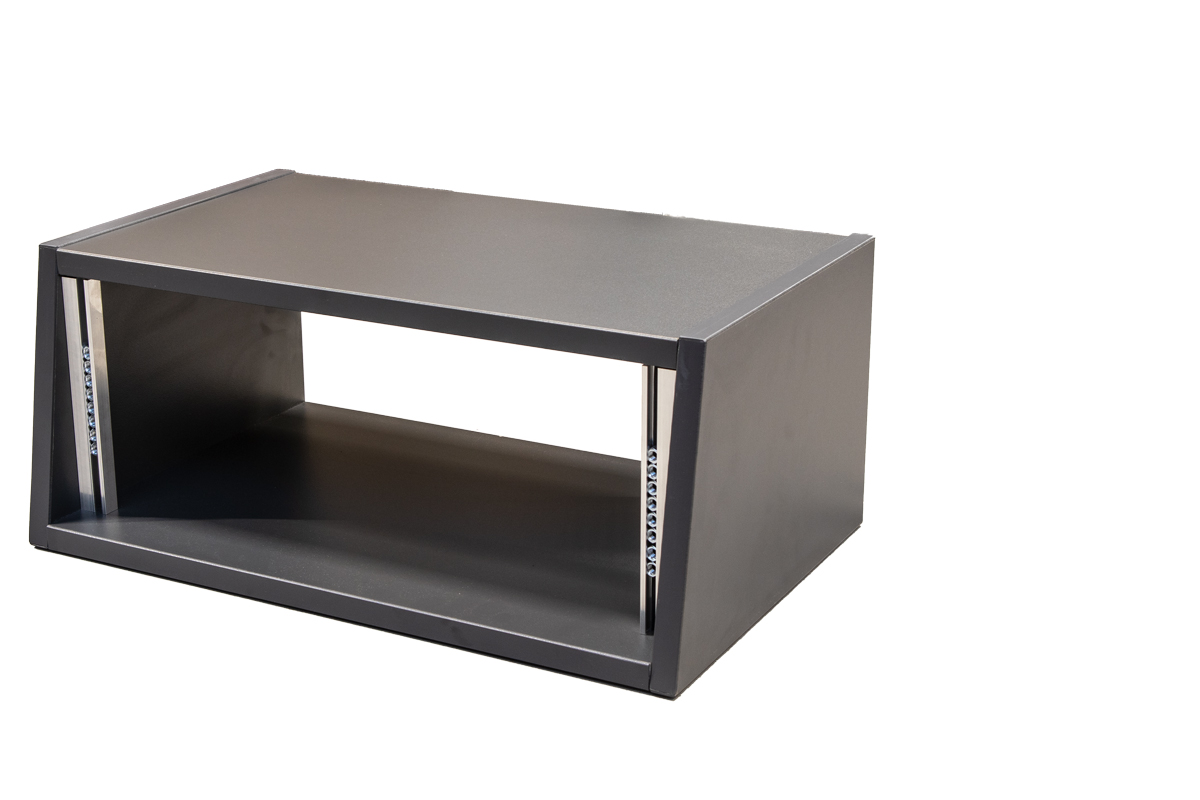 """19"""" 4 HE Desktop Rack Einbautiefe 300mm"""