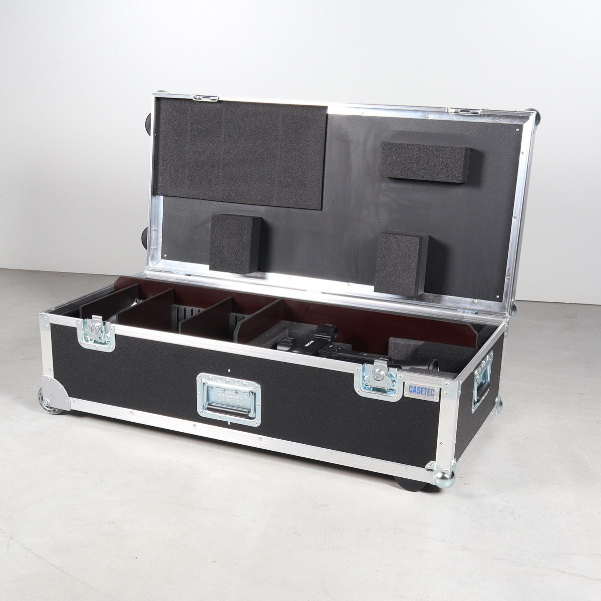 Truhe für eine Sony PWX-Z190V mit Stativ Sachler ACE MGS und div. Zubehör