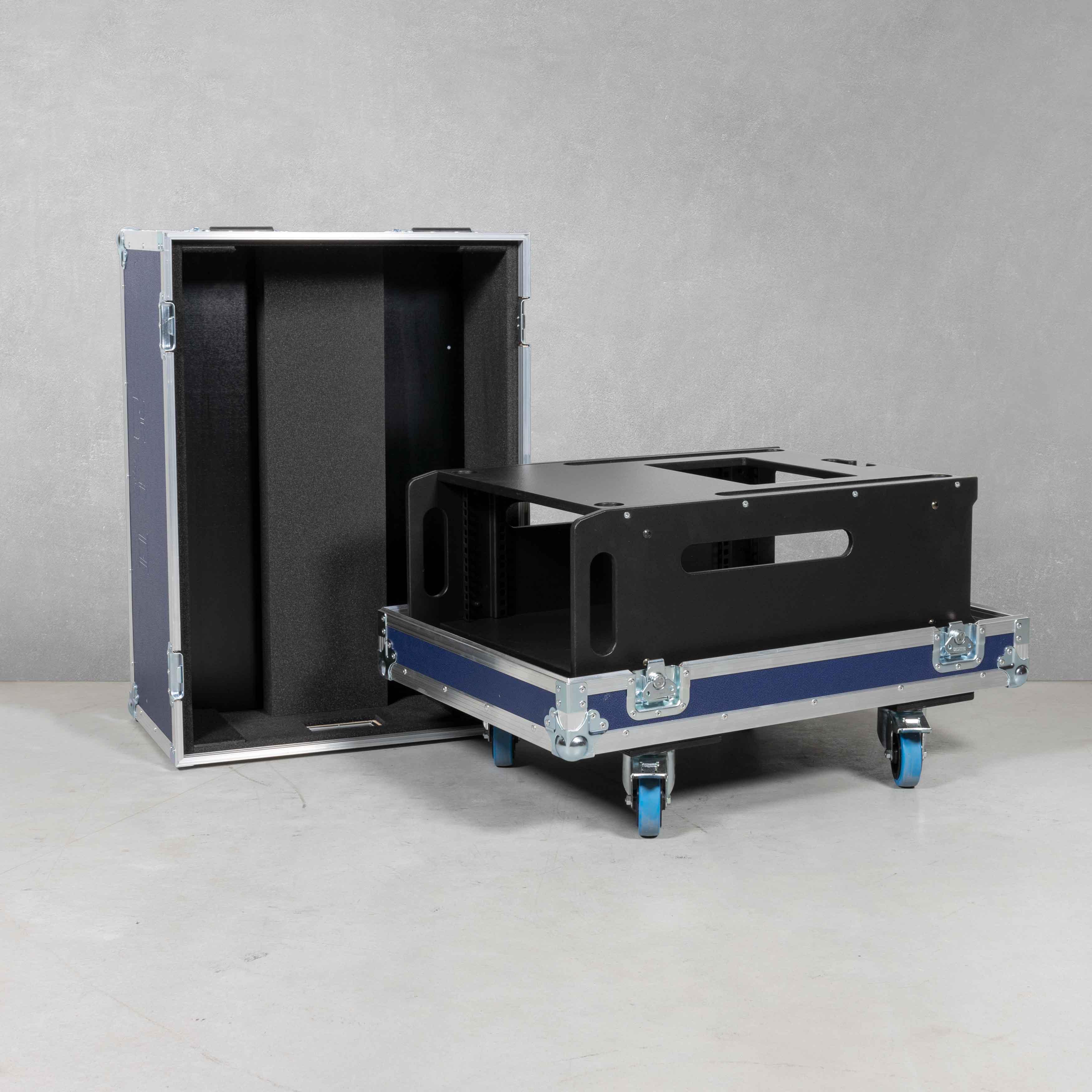 Haubencase für Studiorack 5 HE (Ross Carbonite Ultra3M)